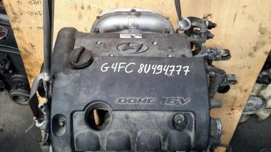 Двигатель i30, ceed, solaris, rio G4FC