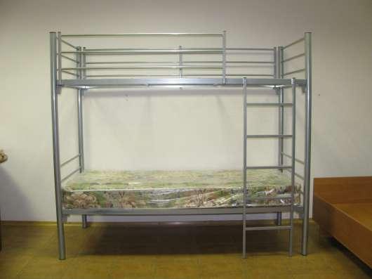 Двухъярусные кровати металлические от компании производителя в Москве Фото 1
