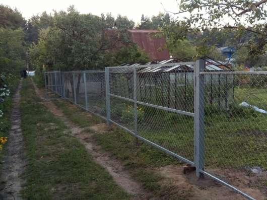 """Установка заборов под""""ключ"""",на оцинкованном каркасе,надёжно в Нижнем Новгороде Фото 3"""