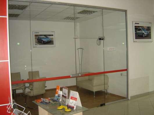 Стеклянные, каркасные, офисные перегородки в Казани Фото 2