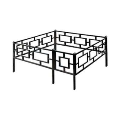 Ограда ритуальная крашенная