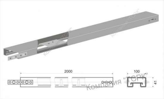 Короб КЛ1, КЛ2 для светильников
