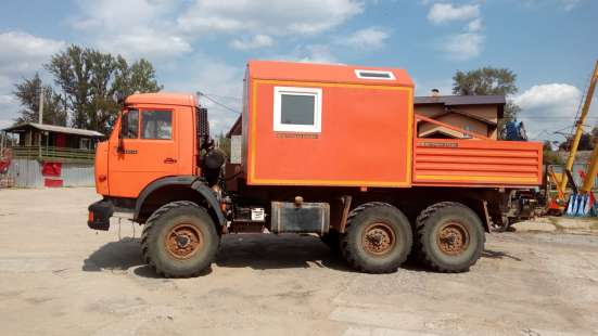 КАМАЗ-43114 АРОК с КМУ 2012г. в. 5т. км