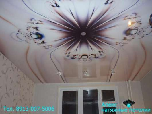 Фотопечать на потолке в Новосибирске Фото 3