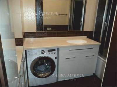 Мебель для ванной на заказ Альфа-Мебель в г. Самара Фото 2
