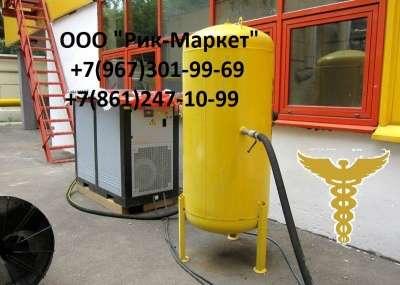 Ресиверы 100, 250,500,700,900 литров.