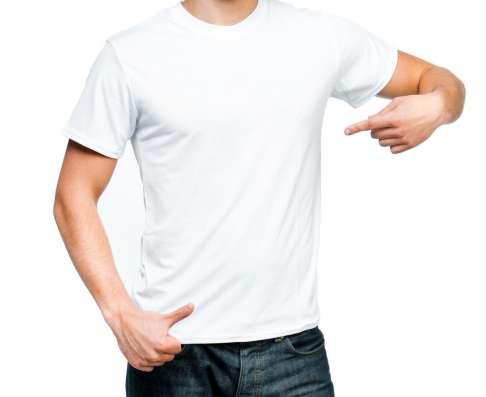 Белые футболки, от производителя, опт от 10 шт