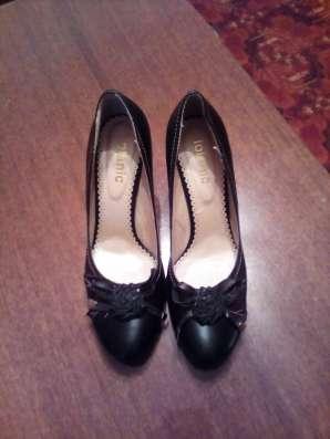 Туфли с розочкой