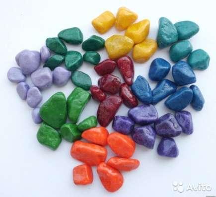 Разноцветный щебень декоративный в г. Одесса Фото 2