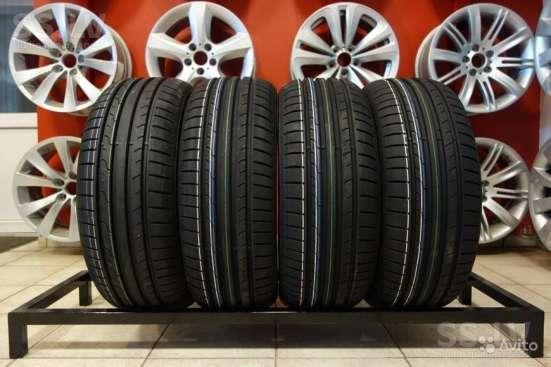 Новые немецкие Dunlop 215 55 R16 BluResponse