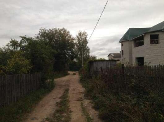Участок 8 соток, в Вишенках, коммуникации по границе в Смоленске Фото 3