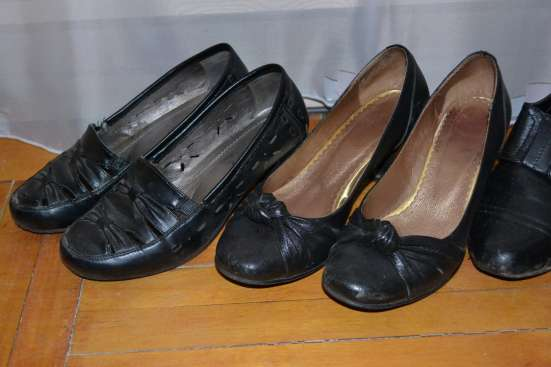 Туфли женские темные в Санкт-Петербурге Фото 3