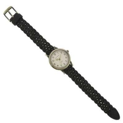 Винтажные женские наручные часы Tokyobay Braid Black T518-BK