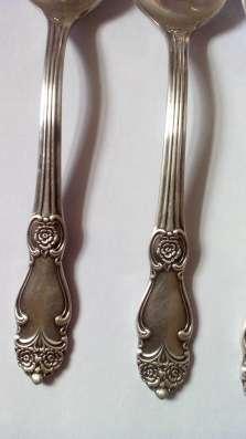Мельхиоровые столовые ложки