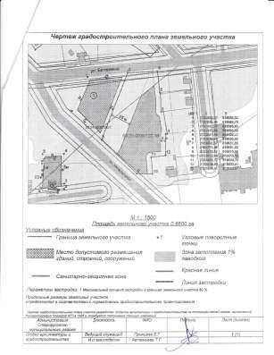 Продаю земельный участок под строит-во торгового центра