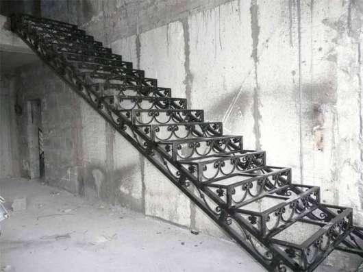 Лестницы, ворота, навесы, ограждения, Кованные изделия