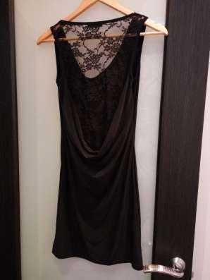 Платье парадное черного цвета