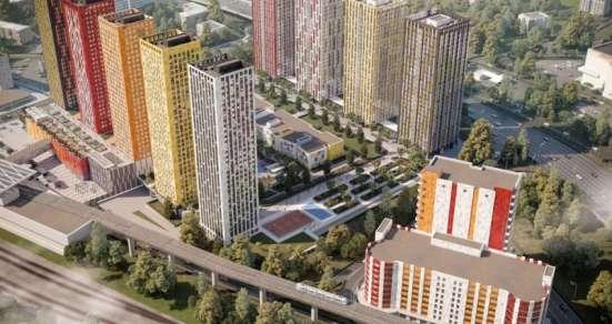 2-комнатная квартира 24 кв. м в Жилом квартале Тетрис в Москве Фото 1