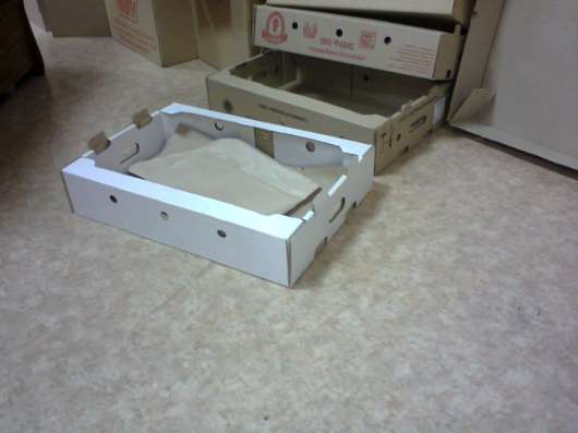 Коробки, лотки (пищщ/пром, Пицца/Пирог, гофрокартон в Челябинске Фото 1