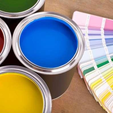 Услуги колеровки лакокрасочных материалов по базовой цветовой палитре TheColor, дополнительным веерам и коллекциям цветов Sherwin-Williams.