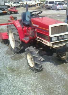 Японский трактор Yanmar Fx17
