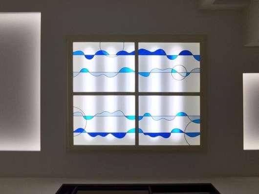 Витражи на стекле и зеркалах в Ижевске Фото 2