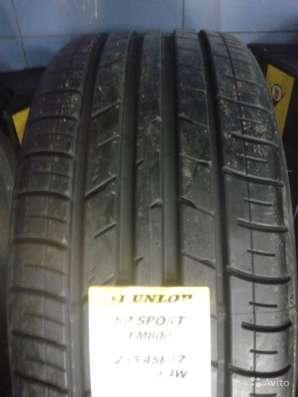 Новые комплекты Dunlop 215/55 R16 SP Sport FM800 в Москве Фото 1