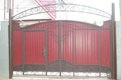 Ворота под индивидуальный заказ в г. Самара Фото 4