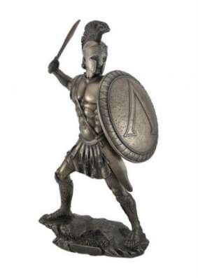 скульптура древнегреческого воина