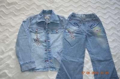 джинсы для девочки 122 и 134 в Челябинске Фото 1