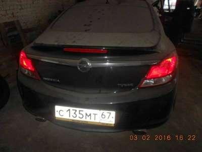 автомобиль Opel Insignia, цена 519 000 руб.,в Смоленске Фото 4