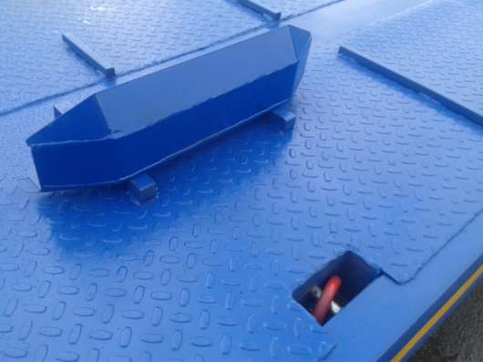Автоприцеп тандемная подвеска никзорамный тяжеловоз для ГНБ