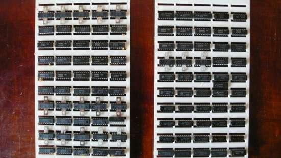 Микросхемы для телевизоров и радиоаппаратуры