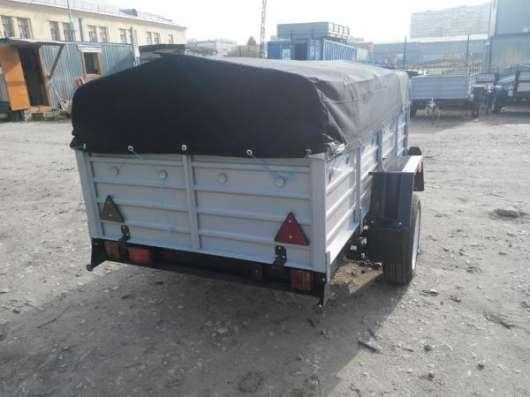 Прицеп для легкового автомобиля 2500х1300 в комплекте с тентом и дугами