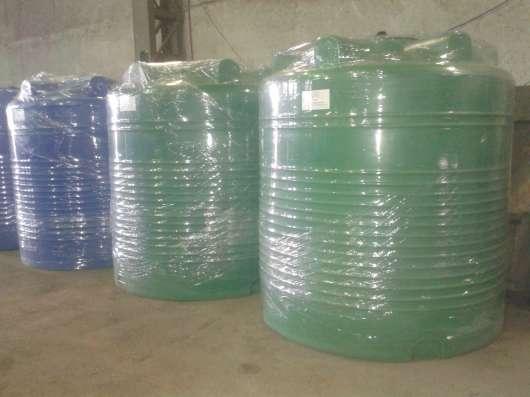 Емкости пластиковые пищевые, хим. стойкие от 1 м3 до 10 м3