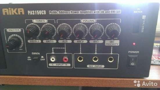 100в. усилитель AIKA PA3150CD - CD/MP3-плейер с FM радио