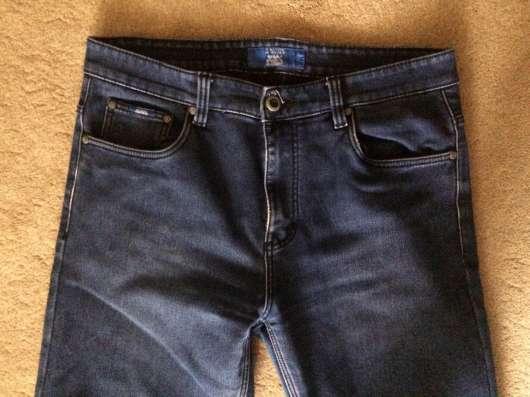 Мужские утеплённые джинсы