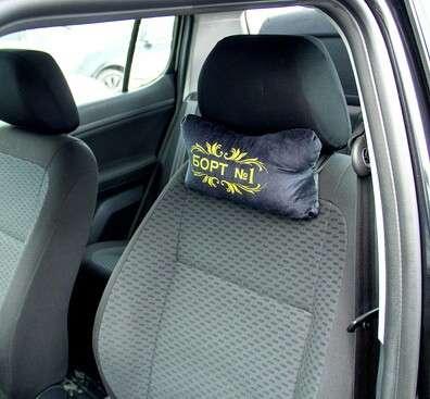 Подушка-подголовник в машину
