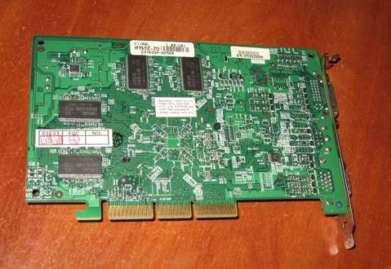 HP P/N5187-3703 или asus V9520 AGP 128Mb в Москве Фото 1