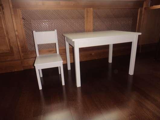 Комплект детский стол и стул