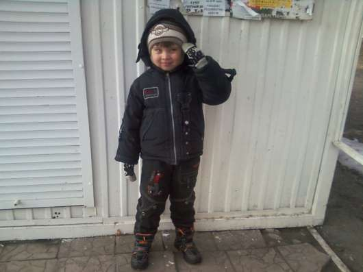 Зимняя одежда для мальчика 3-4-5 ле в Пензе Фото 2