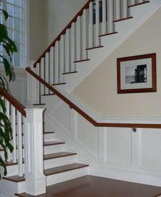 Изготовление лестниц из массива, дуб, ясень, лиственница в Владимире Фото 3