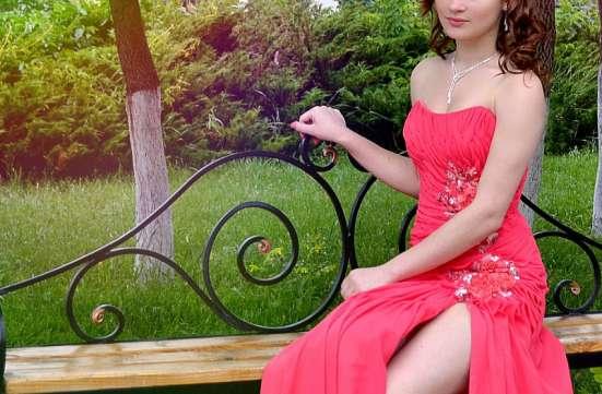 Коралловое платье на выпускной. Возможен торг в г. Краматорск Фото 2