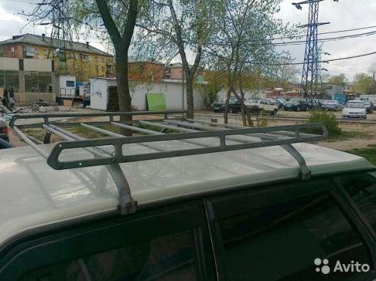 Багажник СССР с корзиной на крышу автомобиля ВАЗ и авт сливы