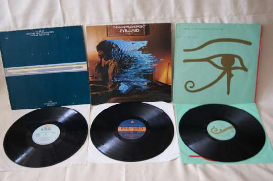 The Alan Parsons Project-1976.1978.1982. Made In W. Germany