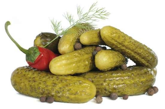 Огурцы корнишоны в жб и бочках