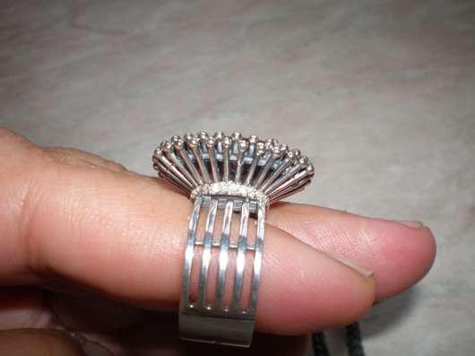 Авторское серебряное кольцо с раухтопазом в г. Харьков Фото 2