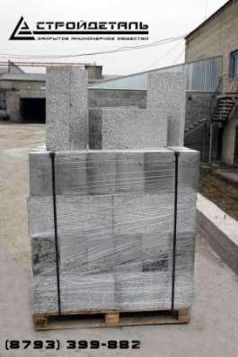 Полистиролбетонный стеновой блок D450
