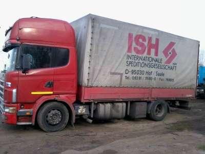 грузовой автомобиль Scania 124