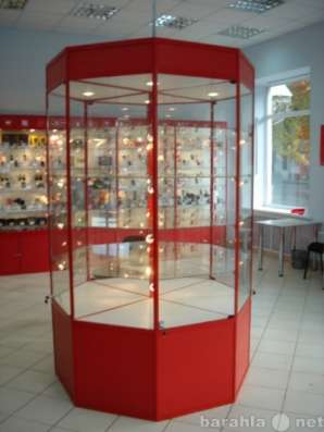Витрины для магазина, салона оптики